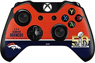Skinit Decal Gaming Skin for Xbox One Controller - Officially Licensed NFL Denver Broncos Super Bowl 50 Champions Design