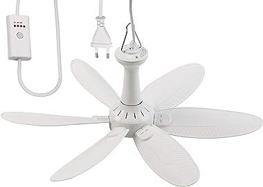 Ventilateur de plafond mobile 6 pales à suspendre VT-242.m avec minuteur - 43 cm [Sichler Haushaltsgeräte]