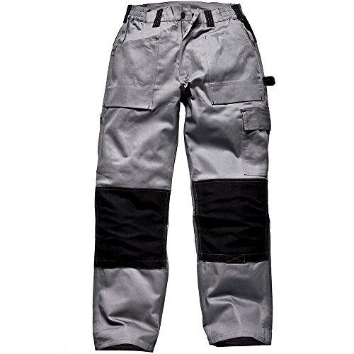 Dickies Pantalons de travail GDT 290 multifonctionnel, couleur:gris/noir;pointure:54