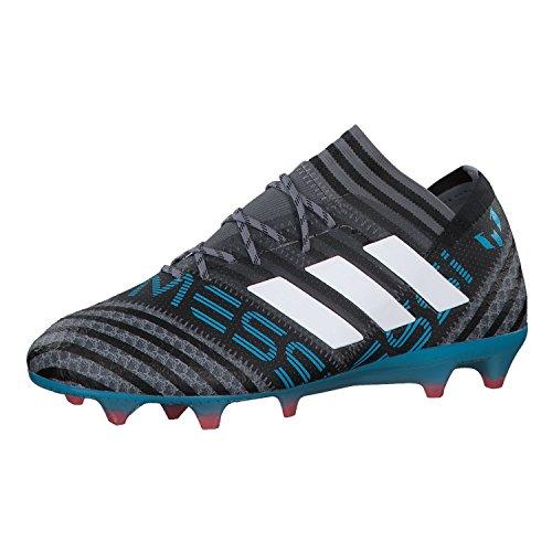 adidas Herren Nemeziz Messi 17.1 FG Fußballschuhe, Grau (Grey/Footwear White/Core Black), 40 2/3 EU