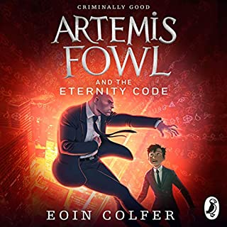 Artemis Fowl and the Eternity Code                   Written by:                                                                                                                                 Eoin Colfer                               Narrated by:                                                                                                                                 Gerry O'Brien                      Length: 7 hrs and 47 mins     Not rated yet     Overall 0.0