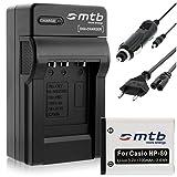 Batterie + Chargeur (Auto/Secteur) pour Casio NP-80 NP-82, Exilim S5 S6 S7 S8 Z1 Z2...