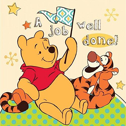 Disney Winnie the Pooh Handtuch 30x30cm Baumwolle Waschlappen