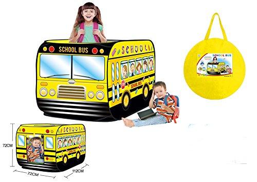MONEYY Bus Scolaires Des Enfants Simple Intérieur Et Extérieur Tente Pliable Portable Jouets Puzzle