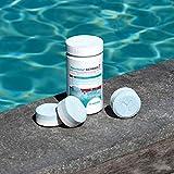 BAYROL Chlorilong ULTIMATE 7 - Pool Desinfektion - 7 in 1 Chlortabletten 300g, sehr hoher Aktivchlor Gehalt, langsam löslich - 1,2 kg