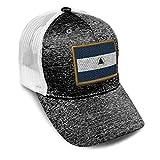 Custom Trucker Hat Jersey Baseball Cap Nicaragua Embroidery Tri Blend for Men & Women Snapback Dark Grey Design Only