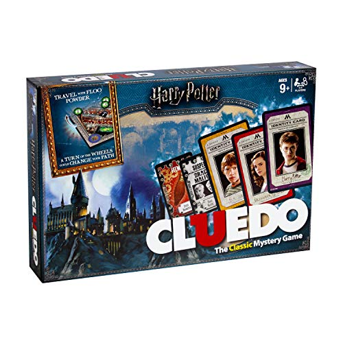Winning Moves 029728 Harry Potter Cluedo Mystisches Brettspiel - Englisch Version