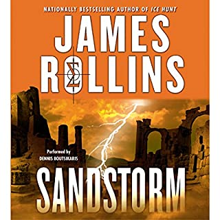 Sandstorm audiobook cover art