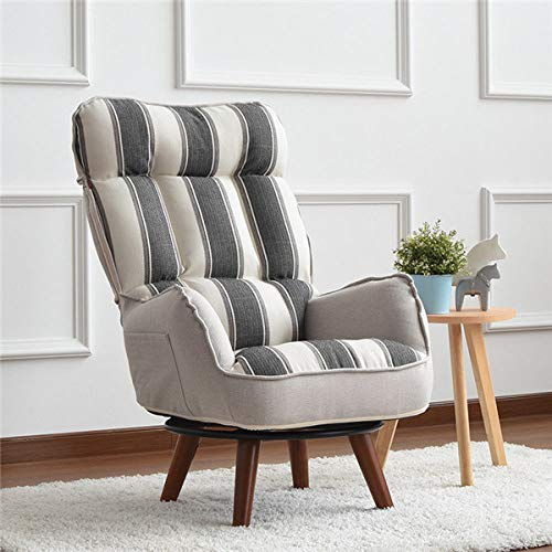 LGFSG Recliner Contemporary Swivel Arm Chair Home Living Room Furniture Reclining Folding Armchair Sofa,colorful grey