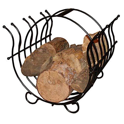 ARSUK Kaminholzständer, Holzkörbe, Feuerholzregal, Kamin Log halter, FireSet Birkenholz Holders, Rack Brennholz Carrier Tools, Holz Korb Behälter