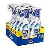 Viakal - Detergente antical en aerosol, tamaño grande, 10 unidades de 515 ml