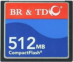 Ogrinal 512MB Type I 80X Compact Flash memory card BR&TD camera card CNC machine cf512mb card