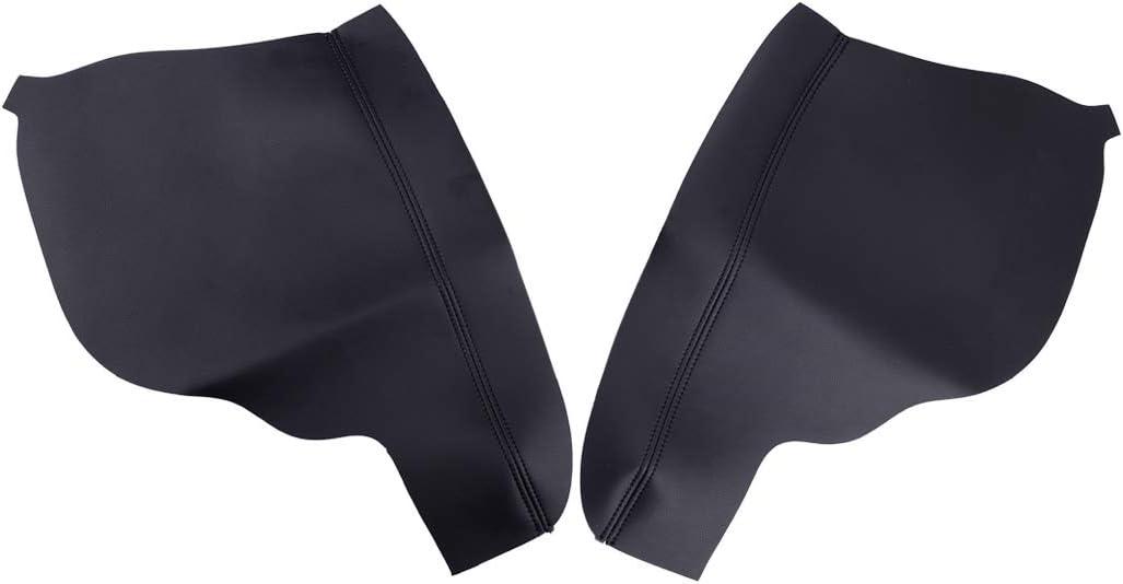 Eastar 2pcs Door Armrest Upholstery Honda Max 63% OFF fit Cover Leather for Popular brand