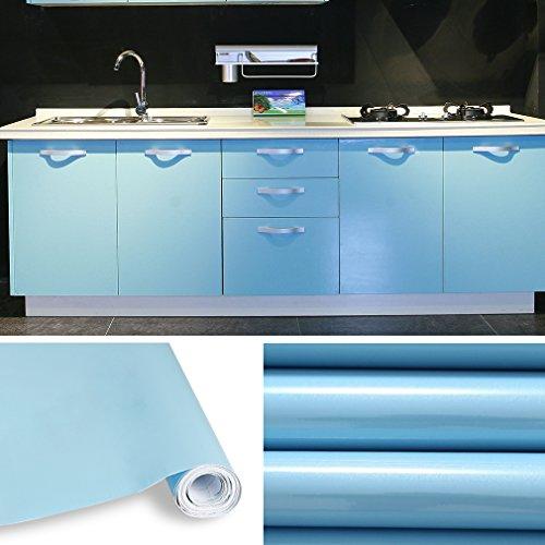 KINLO 5 x 0.61 m Vinilo Pegatina Muebles de Cocina Pantalla PVC...