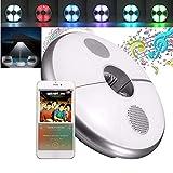 Borstu LED Schirmleuchte mit Bluetooth-Lautsprecher, 7-Farben Campinglampe USB Sonnenschirmleuchte...