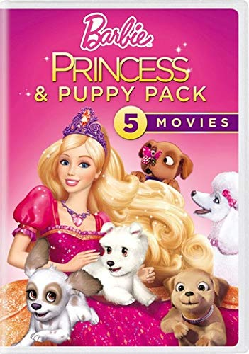 Barbie Princess and Puppy Pack [Region 1]