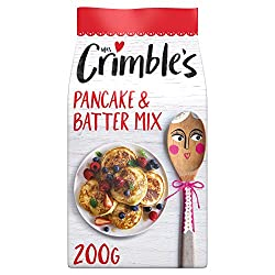 Gluten Free Pancake & Batter Mix Makes American style pancakes, scotch pancakes, crepes and yorkshire puddings Gloriously Gluten Free ! Vegetarian Friendly