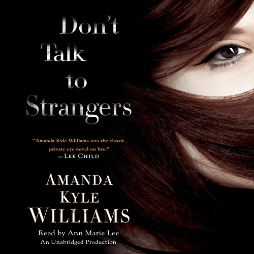 Don't Talk to Strangers audiobook cover art