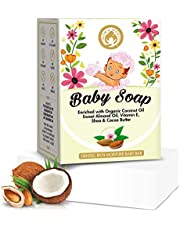Mom World Natural Baby Soap Enriched With Organic Coconut