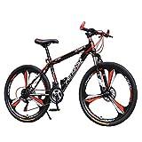 YXWJ 24 Velocidad 27 montaña de la Velocidad de la Bici MTB 24/26 Pulgadas Bicicleta con 6 Cortador de Ruedas Todo Terreno montaña de la Bicicleta de Doble Disco de Freno Escuela de Trabajo de Bici