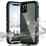 Janazan iPhone 11 Pro Waterproof Case, IP68 Full Sealed Underwater Protective Cover, Waterproof Shockproof Snowproof Dirtproof with Built-in Screen Protector for iPhone 11 Pro 5.8 inch 2019 (Blue)
