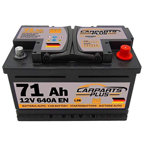 CarPlus L371CARPARTS Autobatterie, 71ah 640A
