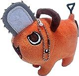 Chainsaw Man Anime Pochita Soft Plush Keychain Doll, Plush Stuffed Dolls Toys, Cosplay Plushie Anime Toys for Kids, Gift for Anime and Manga Fans (Keychain)
