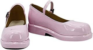 YYFZ Chaussures Anime Cosplay Chaussures Masquerade Pink Ladies Shiny Shoes Version personnalisée,Women's size-35