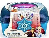 Darpeje MALETIN METALICO DE Frozen II (Incluye Set Creativo DE 60 Piezas)