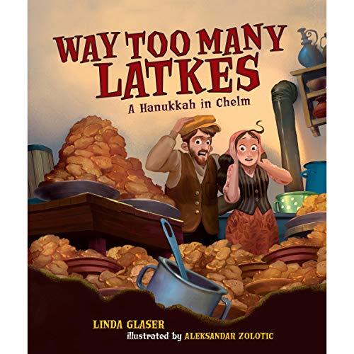 Way Too Many Latkes audiobook cover art