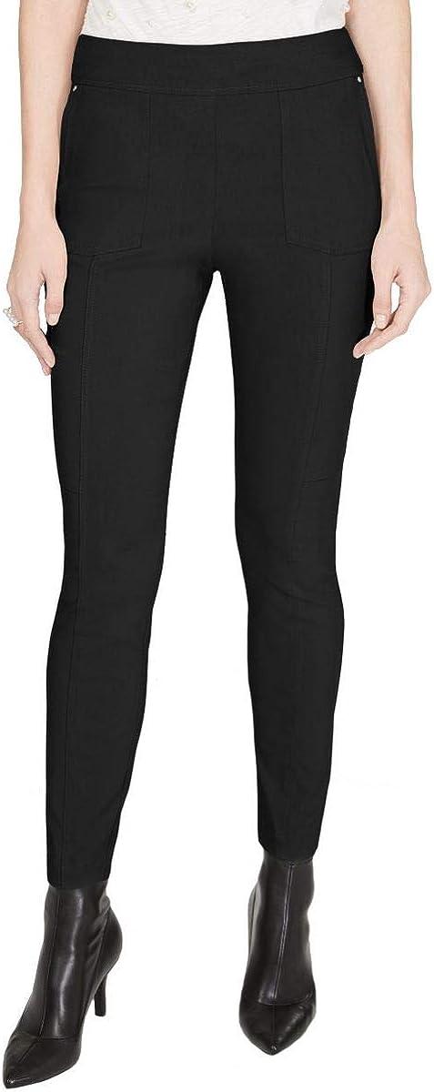 INC Women's Mid-rise Curvy Pull On Skinny Pants