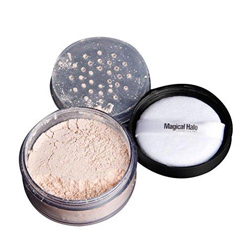 Polvo fijador a granel, polvo de acabado profesional para cobertura de maquillaje, regula el brillo, translúcido, peso ligero