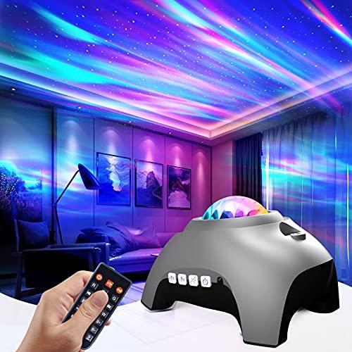Galaxy Light Projector for Bedroom, Star Projector Night...