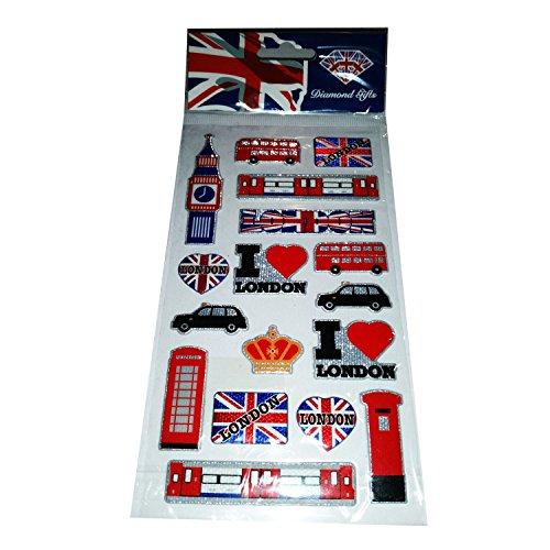 I Love London England Britain United Kingdom Sticker...