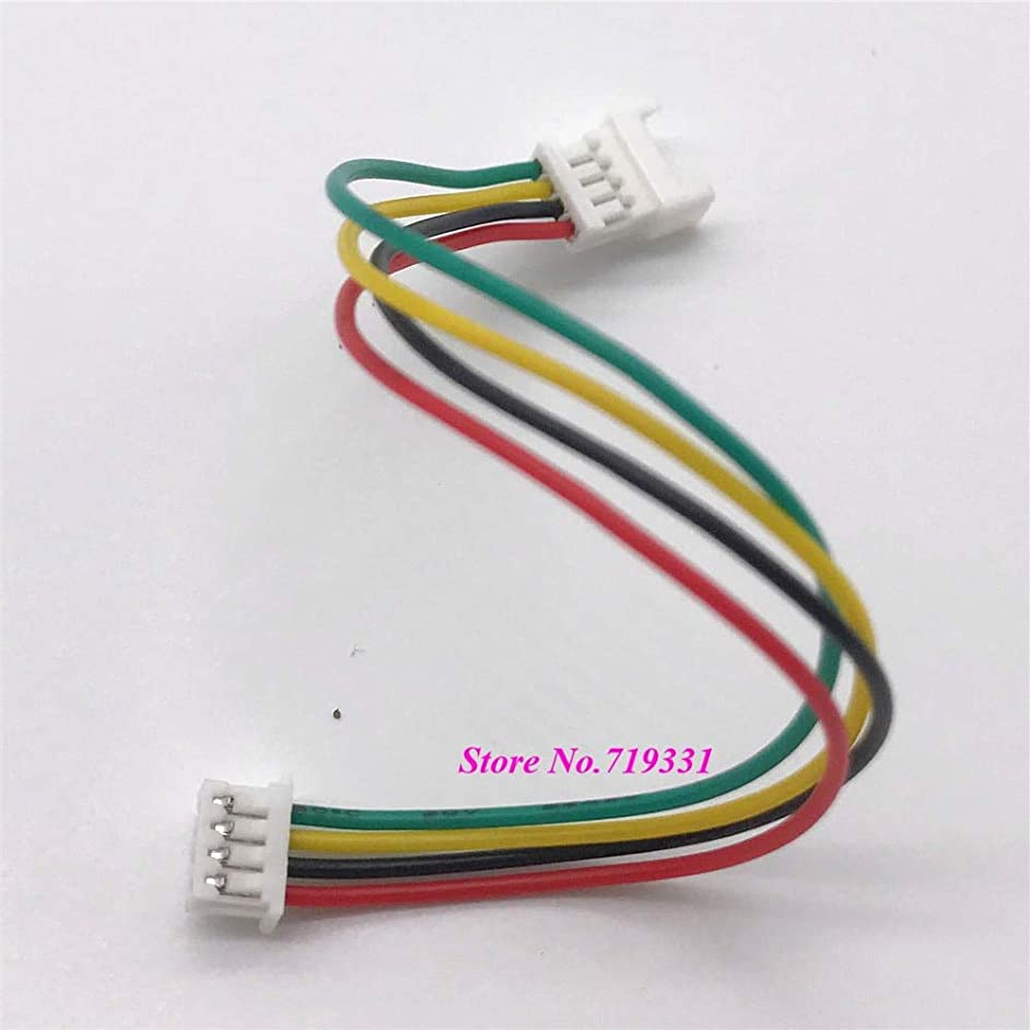 Nathan-Ng - 10pcs 1.25mm PicoBlade 4Pin Male to Female Housing Connector Extension wire JST 1.25mm