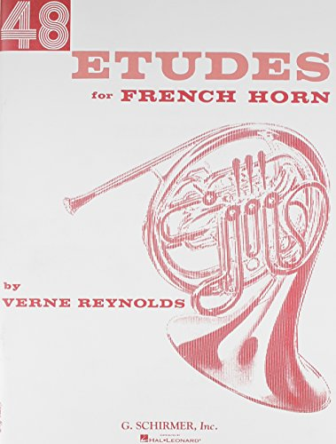Forty Eight Etudes for French Horn (Reynolds French Horn)
