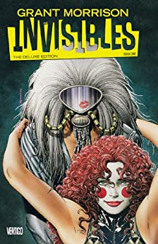 The Invisibles: Book One - Deluxe Edition by [GRANT MORRISON, STEVE YEOWELL, JILL THOMPSON, Steve Yeowell, Jill Thompson]
