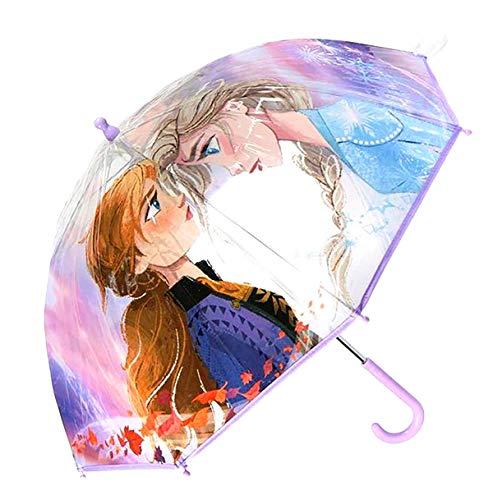 Cerdá Unisex-Kinder 7029-511-lila-u Handbuch Poe Frozen 2 Umbrella, Eine Größe