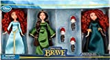 [Disney] Disney / Pixar BRAVE Movie Exclusive 6 Piece Mini Doll Set 2x Merida Queen Elinor Triplet Brothers 6070040900145P [parallel import goods]