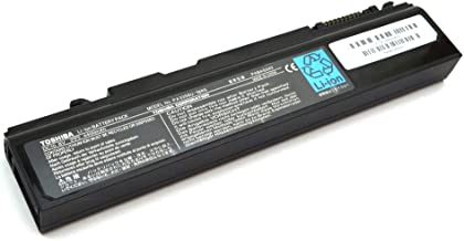 10.8V 48Wh 4400mAH 6-Cell Black Rechargeable Li-Ion Laptop Battery PABAS049 for Toshiba Portege M300 Qosmio F25 Satellite A50 Series