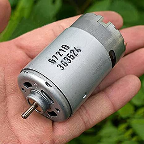 WEI-LUONG Motor Johnson RS-550 DC 12V-18V 14.4V 24000RPM Motor eléctrico de Alta Velocidad eléctrico