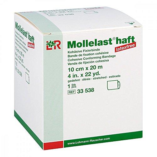 Mollelast Haft Binden Latexfrei 10 cmx20 m Weiß, 1 St