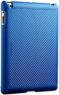 Cooler Master CM Carbon Texture Mobile Yen Folio for iPad 2/3/4 - Blue