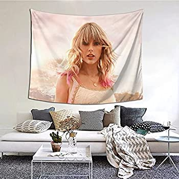 Jerukqu Tay_Lor Swi_Ft 3D Printing Tapestry Wall Hanging Blanket Wall Art Living Room Bedroom Background Animation Tapestry Party Banner Home Decoration  60x51  Inch