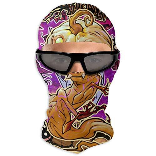 N/A Full Face Mask Halloween Phantom Plant Pompoen Monster Hood Zonnebrandmasker Dual Layer Koud voor mannen en vrouwen