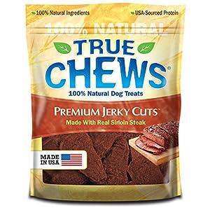 True Chews Premium Jerky Cuts Dog Treats, Sirloin Steak, 22 Ounce