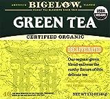 Bigelow Decaffeinated Organic Green Tea Bags, 40 ct