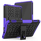 ROISKIN Dual Layer Heavy Duty Case Cover for TabletFlREHD 8/8 Plus 2020 Released 10th Generation,Not for Samsung Case