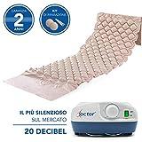 AIESI Materasso Antidecubito a bolle d'aria con compressore regolabile a ciclo alternato DOCTOR...