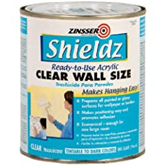 Prepares all painted or glossy surfaces for wallpaper or borders Adheres to vinyl, paneling and other hard-to-stick-to surfaces Makes positioning easier and promotes excellent adhesion Model number: 2104